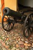 Mittelalterliche Kanone Lizenzfreies Stockfoto