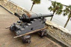 Mittelalterliche Kanone Stockfotografie
