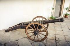 Mittelalterliche Kanone Lizenzfreie Stockfotografie