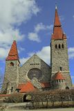 Mittelalterliche Kathedrale in Tampere, Finnland Stockbilder