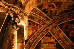Mittelalterliche Kirche Stockbilder