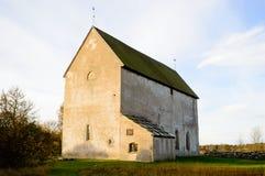 Mittelalterliche Kirche Stockfotografie