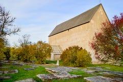 Mittelalterliche Kirche Lizenzfreie Stockfotos