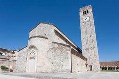 Mittelalterliche Kirche Sant Ambrogio di Valpolicella, Italien stockfoto