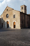 Mittelalterliche Kirche, Terni stockbild