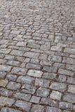 Mittelalterliche Kopfsteine Stockfotografie