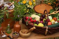 Mittelalterliche Medizin Stockfotografie