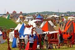 Mittelalterliche Messe Stockbilder