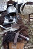 Mittelalterliche Militär-equipmen Lizenzfreie Stockfotografie