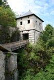 Mittelalterliche mittelalterliches Schloss Stockfotografie