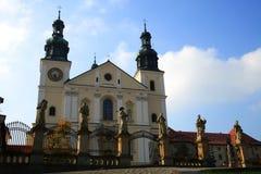 Mittelalterliche monastyr oo bernardines im kalwaria Lizenzfreies Stockbild