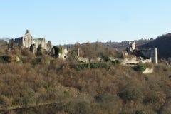 Mittelalterliche Ruinen Stockfotografie