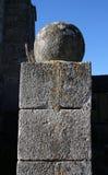 Mittelalterliche Säule, Haute-Vienne-Abteilung von Limousin Stockfoto