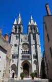 Mittelalterliche Sankt- Nikolauskirche in Blois, Frankreich Stockfotografie