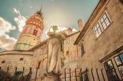 Mittelalterliche Schönheit in der Tschechischen Republik lizenzfreie stockbilder