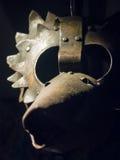 Mittelalterliche Schablone Stockfoto