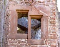 Mittelalterliche Schlossruine in Deutschland Lizenzfreies Stockbild