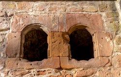 Mittelalterliche Schlossruine in Deutschland Stockfoto