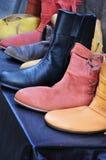 Mittelalterliche Schuhe Lizenzfreie Stockbilder