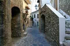 Mittelalterliche Stadt in Italien Stockfotografie