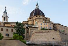 Mittelalterliche Stadt Loreto Aprutino, Abruzzo, Italien Lizenzfreies Stockfoto