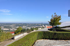 Mittelalterliche Stadt Orem, Portugal Lizenzfreies Stockbild