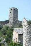 Mittelalterliche Stadt Pocitelj stockfotografie