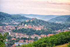 Mittelalterliche Stadt Sighisoara Stockbilder
