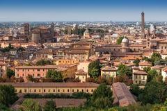 Mittelalterliche Stadt von Bologna, Italien Lizenzfreie Stockfotos