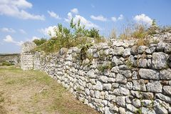 Mittelalterliche Stadt von Cherven, Bulgarien Lizenzfreies Stockbild
