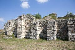 Mittelalterliche Stadt von Cherven, Bulgarien Stockfotos