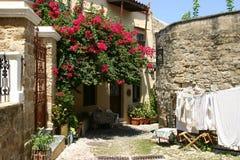 Mittelalterliche Stadt von Rhodos, alte Stadt Stockfoto
