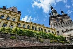 Mittelalterliche Stadt von sighisoara Stockbilder