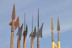 Mittelalterliche Stangen Lizenzfreie Stockfotos