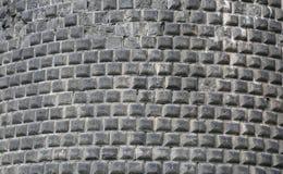 Mittelalterliche Steinwand Stockfotografie