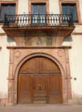 Mittelalterliche Tür Stockfotos