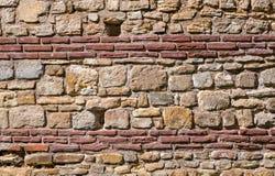 Mittelalterliche Wand Stockfotografie
