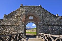 Mittelalterliche Zitadelle lizenzfreies stockbild