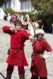 Mittelalterlicher Bogenschütze Lizenzfreie Stockfotos