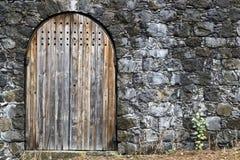 Mittelalterlicher Eingang Lizenzfreie Stockfotografie
