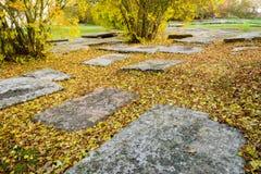 Mittelalterlicher Friedhof Lizenzfreies Stockbild