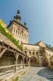 Mittelalterlicher Glockenturm stockbilder