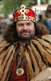 Mittelalterlicher König Lizenzfreie Stockfotografie