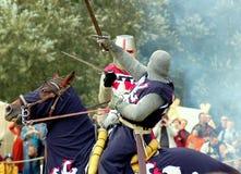 Mittelalterlicher Kampf Lizenzfreie Stockbilder