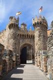 Mittelalterlicher Kommunikationsrechner, Ponferrada stockbild