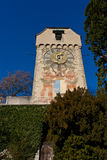 Mittelalterlicher Kontrollturm Lizenzfreie Stockfotos