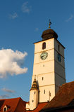 Mittelalterlicher Kontrollturm Lizenzfreies Stockbild