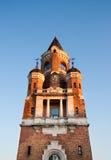 Mittelalterlicher Kontrollturm Stockfotografie