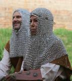 Mittelalterlicher Krieger Stockfoto