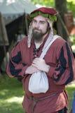 Mittelalterlicher Mann Stockfotografie